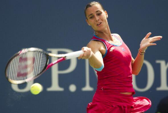 La italiana Flavia Penneta dio otra sorpresa en el Abierto de tenis de E...