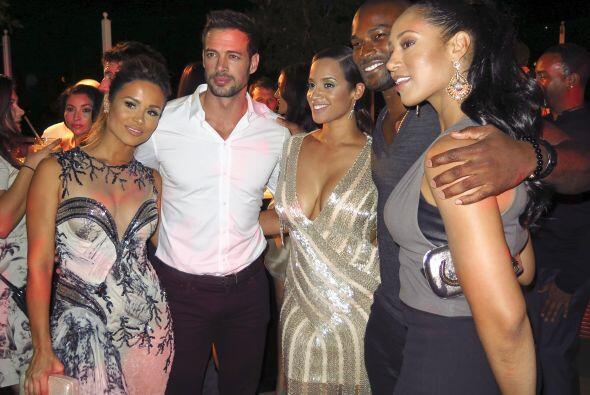 El actor cubano asistió a la fiesta de la revista Latina por la p...