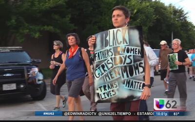 Manifestación en contra de abusos policiales