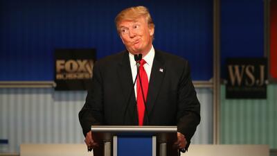 Donald Trump dice que aceptará los resultados de las elecciones si él gana