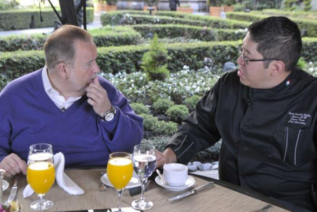 Edgar Kano también le explicó a Raúl que dependiendo de la región del pa...