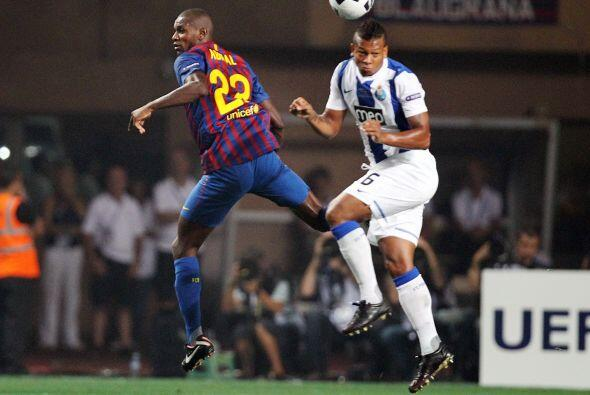 Los primeros minutos se vio a un Barcelona dominando el balón, como de c...