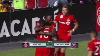 Toronto FC 3-2 Chicago Fire: Giovinco vuelve a ser figura en doble remon...