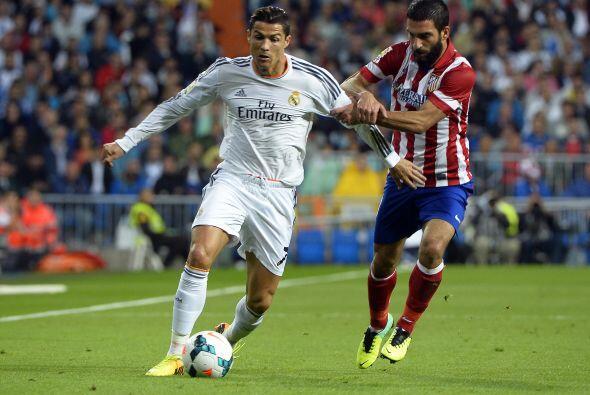 Cristiano Ronaldo estuvo errático y algo desaparecido.
