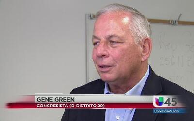Congresista Gene Green habla sobre crisis humanitaria en la frontera
