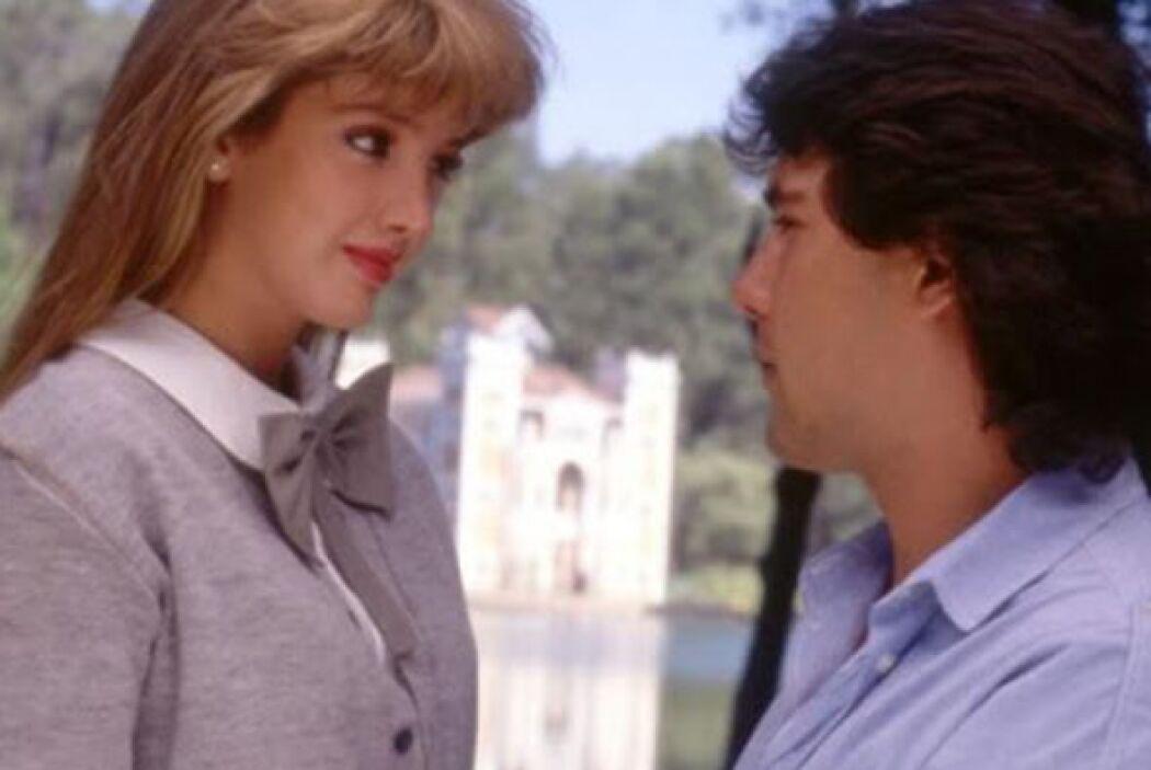 Fue uno de los primeros éxitos de estas dos estrellas de las telenovelas.
