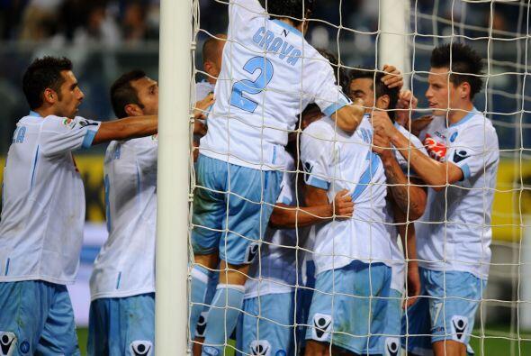 Pero el eslovaco Hamsik empató a falta de seis minutos para el final.