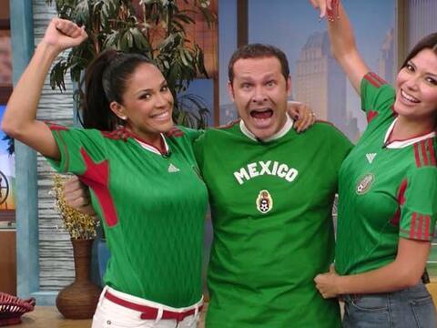 Despierta América se puso la verde para mostrar su apoyo a M&eacu...