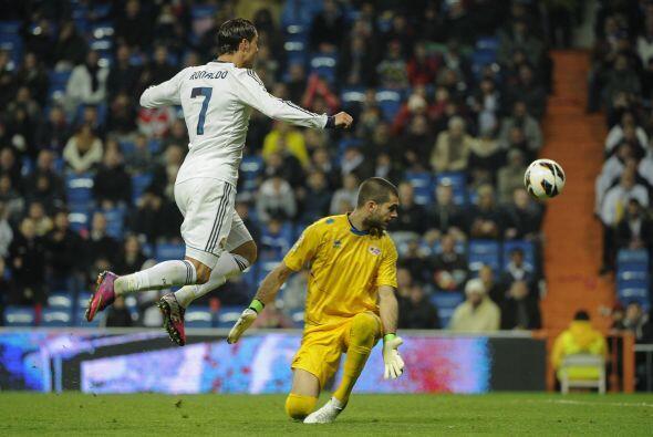 Cristiano y el ataque blanco contó con varias opciones para logra...