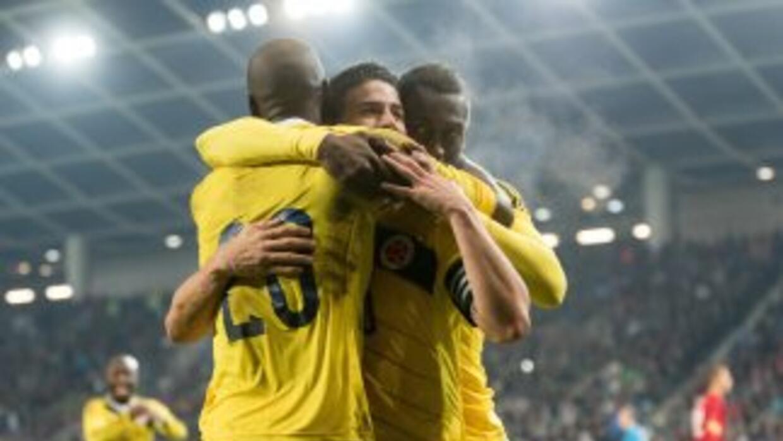Colombia cerró un año inolvidable con triunfo ante Eslovenia.