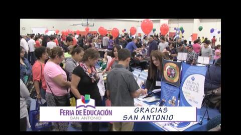 ¡Gracias por ser parte de Feria de Educación!