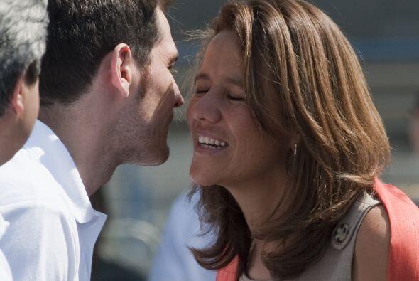 Iker fue recibido por la primera dama de México, Margarita Zavala.