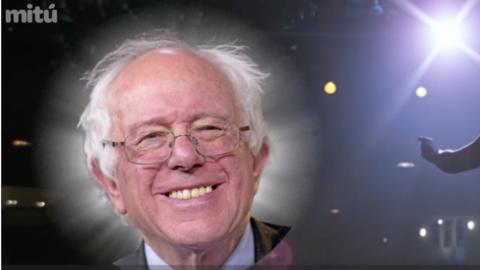 El video de Bernie Sanders con una canción de Selena de fondo tie...