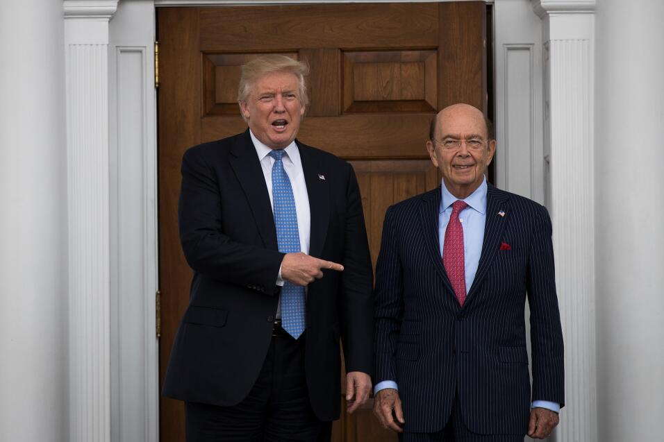 Wilbur Ross y Trump