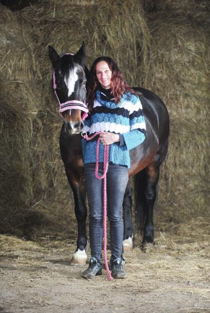 Durante 25 años Sheila se hizo cargo de un hermoso caballo llamad...