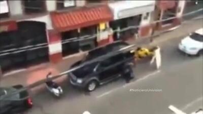 Un rescate de siete rehenes en Mexico provocó una balacera