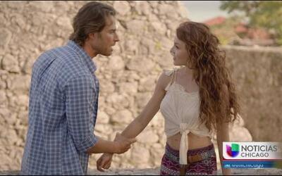 Angelique Boyer y Sebastián Rulí juntos en Tres Veces Ana