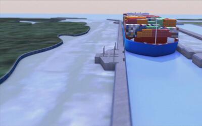 Animación: así fue la ampliación millonaria del Canal de Panamá