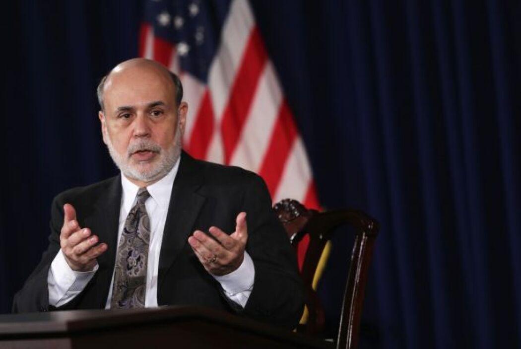Y para 2014 Ben Bernanke ya no estará más al frente de la Reserva Federa...