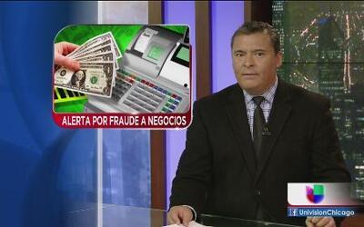 Alertan a negocios de posible fraude