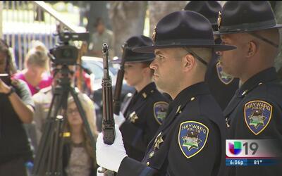 Honran memoria de oficiales caídos en cumplimiento de su deber en CA