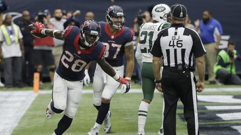 Texans 24-17 Jets: Houston consiguió la victoria sobre Jets (video)
