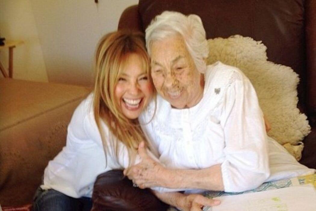 Thalía está en México y se siente feliz porque pudo reencontrarse con su...