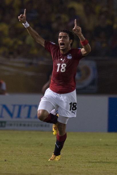 Omar Gaberpo empató el partido cuando mejor se veía Egipto.