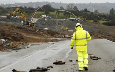 Solicitan ayuda para reparar los daños en la represa de Oroville ante la...