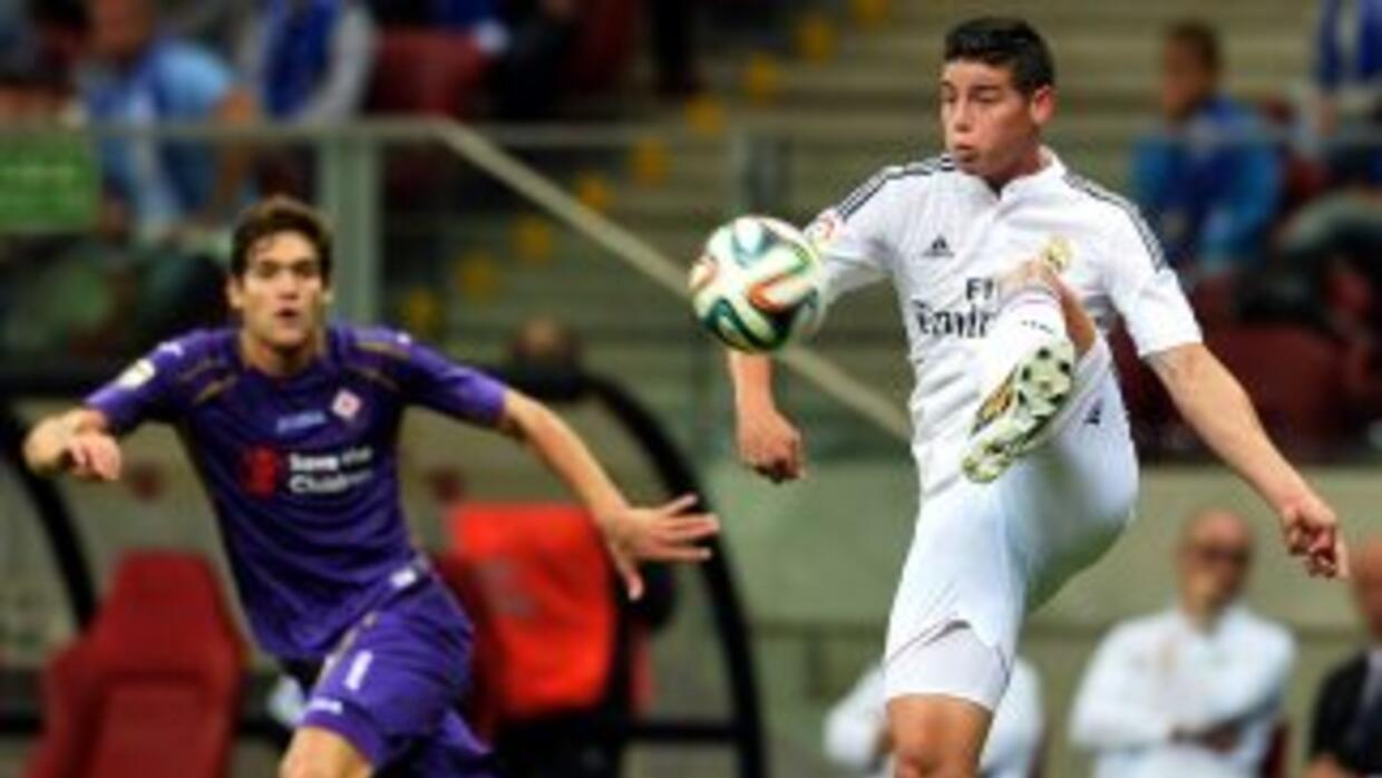 Real Madrid cayó ante Fiorentina en duelo amistoso.