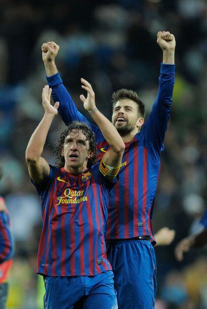 8. Puyol, capitán: No había tenido Carles Puyol actuaciones interesantes...