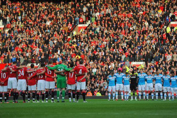 Manchester United recibió la visita del Arsenal.