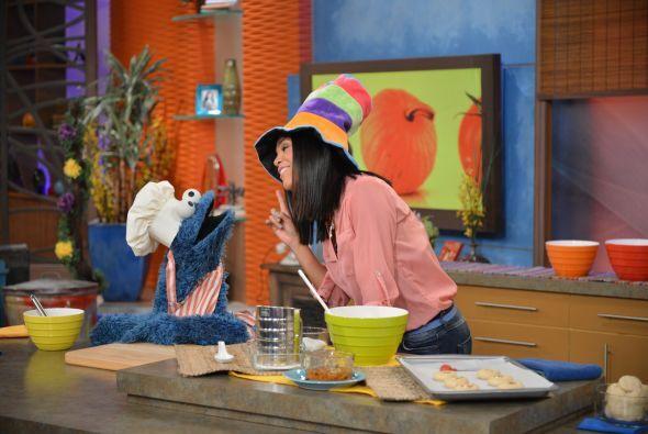 Ella le enseñó a preparar galletas de mantequilla con mermelada picante.