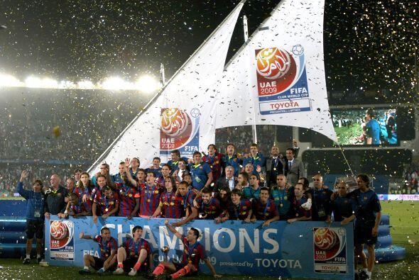 Allí apareció la magia y el talento de Lionel Messi y con...