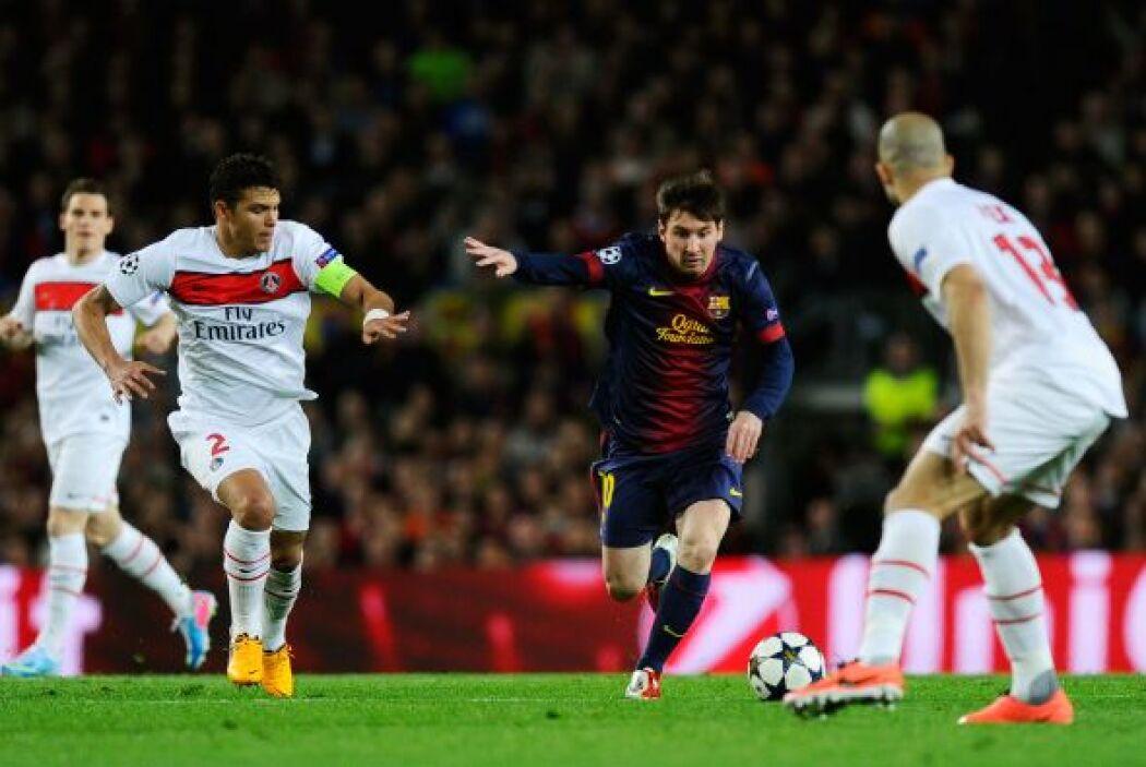 El Barça echó mano de Messi lesionado para dejar fuera al París Saint Ge...