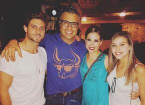 HoracioPancheri, Jaime Camil, Paulina Goto y Bianca Marroquín