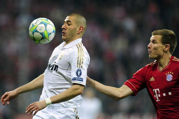 Karim Benzema espezaba a ser el jugador más peligroso del Madrid...