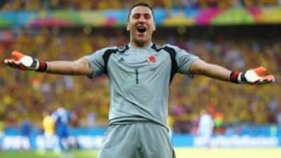 Parece que el traspaso del colombiano Ospina con los 'Gunners' es sólo c...