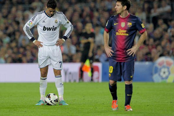 Messi y Cristiano van a su aire. Al margen. Llevan ambos su propio ritmo...