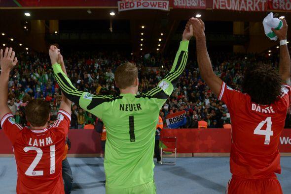 Con el Bayern, Neuer también ganó la Copa Mundial de Clubes Marruecos 20...