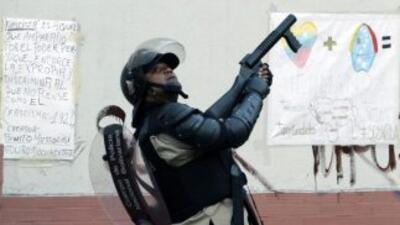 Balacera entre policías y presuntos delincuentes, dejó un muerto en la U...