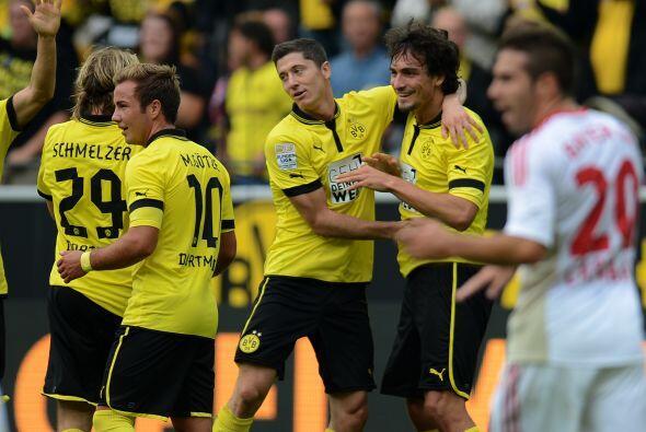 Por si fuera poco, convirtió un gol para que el Dortmund se impusiera po...