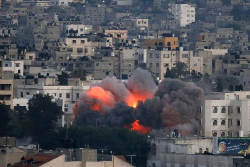 Así como a edificios del Ministerio del Interior de Hamas.