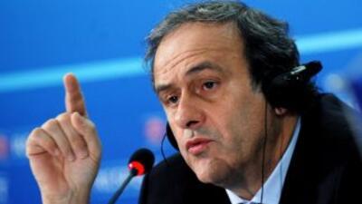 El presidente de la UEFA dijo que la tecnología en la línea de gol es de...