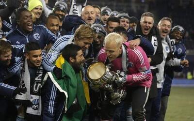 Sporting Kansas City se coronó campeón de la MLS por segunda vez en su h...