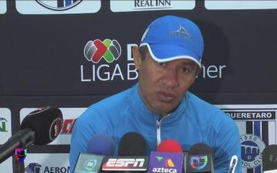 Ignacio Ambríz: 'Intentaremos hacer un buen partido'