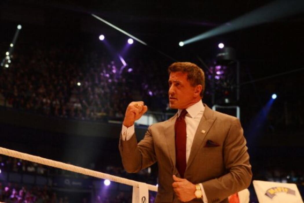 Silveter Stallone estuvo como invitado especial en el 'O2 World Arena' d...