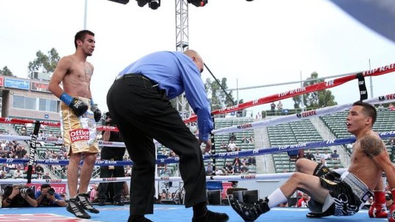 Valdez cayó en el primer round (Foto: Top Rank)