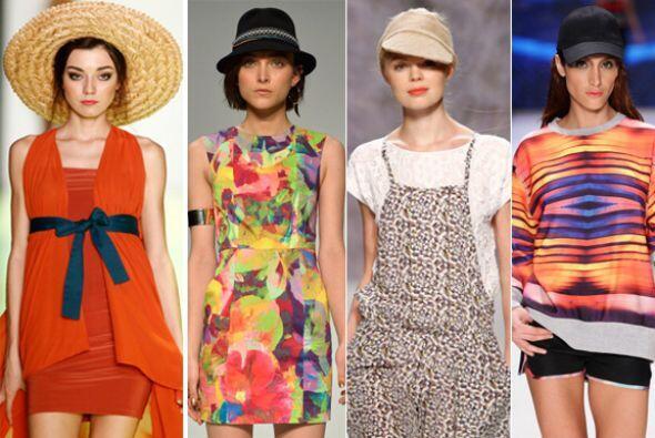 Cúbrete con mucho estilo de los dañinos rayos del sol con los sombreros...