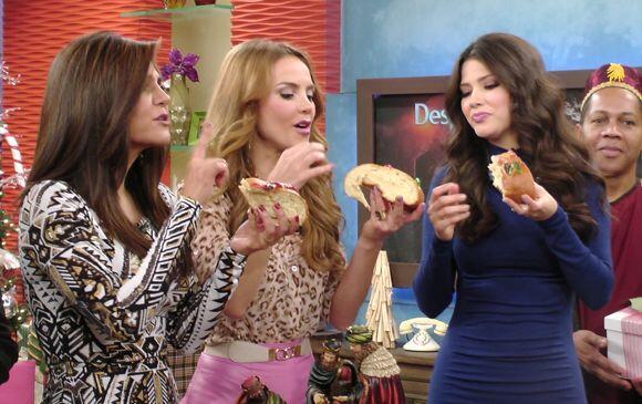 Las chicas dejaron de lado la dieta, no siempre hay Rosca de Reyes.